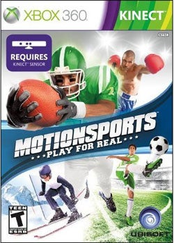XBox 360 - Kinect MotionSports (Pre-Played)