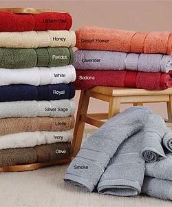 Kassanilo Royal Blue 6-piece Bathroom Towel Set