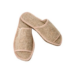 Men's Felt Summer Eco Slippers (Russia)