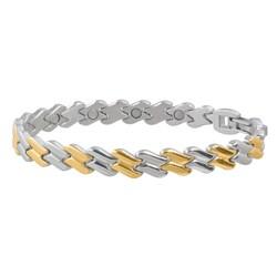 Sabona Women's Stainless Steel Magnetic Bracelet