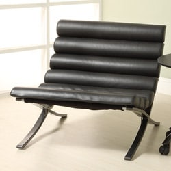 Carter Black X-Frame Chair