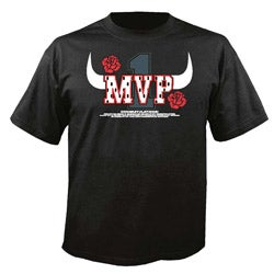 Chicago Basketball 'MVP' Black T-shirt