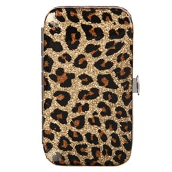 Cala Products 5-piece Leopard Case Manicure Set