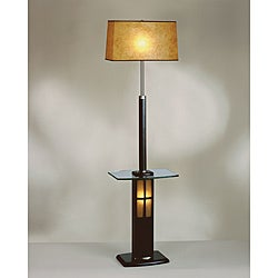 Nova Lighting 'Ventana' Wood Tray Floor Lamp