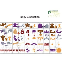 Cricut Seasonal Happy Graduation Cartridge