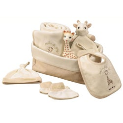 Vulli Sophie the Giraffe My First Hours Gift Basket