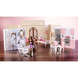 Bratz Mansion http://www.overstock.com/Sports-Toys/Bratz-World-House-Kids-Toy-Dollhouse-with-Interchangeable-Rooms/5963505/product.html