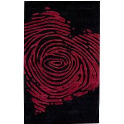 nuLOOM Handmade Pino Heart Rug (7'6 x 9'6)