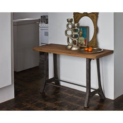 Reclaimed Teak Console Table (India)