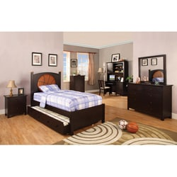 furniture of america connor basketball theme twin size bedroom set