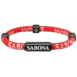Sabona Red Athletic Bracelets (Pack of 2)