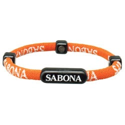 Sabona Orange Athletic Bracelets (Pack of 2)