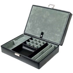 Wolf Designs Travel Watch Box with Valet