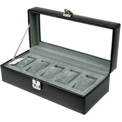 Wolf Designs 5-watch Storage Box