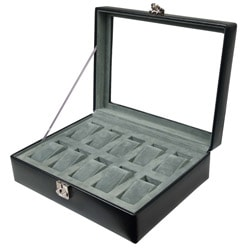 Wolf Designs 10-watch Storage Box