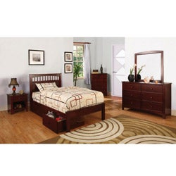 Gavin 4-piece Full-size Platform Bed