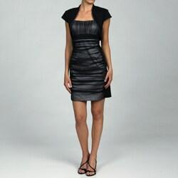 S.L. Fashions Women's 2-piece Bolero Jacket Dress Set
