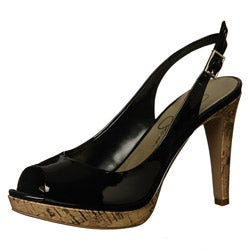 Jessica Simpson Women's 'Achillea' Slingback Open Toe Pumps