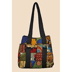 Quilted Medium Original Patchwork Tote (Kenya)