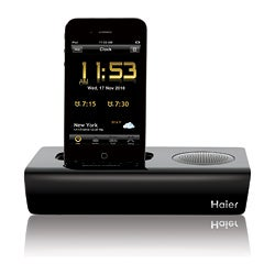 Rise App Driven Clock Radio for iPod/iPhone