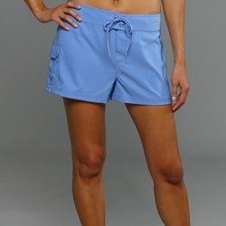 Jag Women&#39;s Blue Cover-up Boardshorts