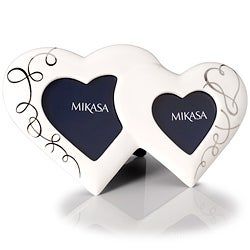 Mikasa Love Story Double Heart Photo Frame