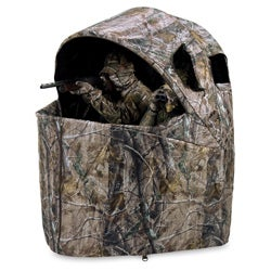 Ameristep Twoman Realtree AP Camo Chair Blind