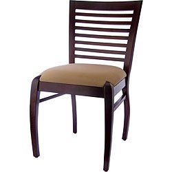 Sienna Walnut Horizontal Side Chairs (Set of 2)