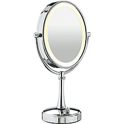 Conair BE117 Double-Sided 10x-1x Variable Lighting Mirror