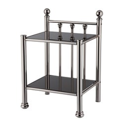 Ashland Black Nickel Night Stand