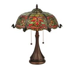 Tiffany Style Viking Table Lamp
