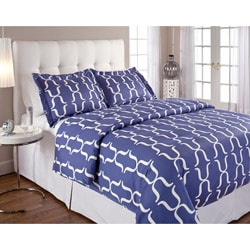 Brackets Count Sateen 3-piece Duvet Cover Set