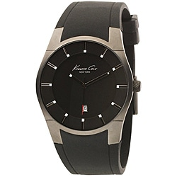 Kenneth Cole Men's Super-sleek Collection Polyurethane Strap Watch