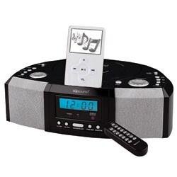 IQ Sound IQ-1305 Portable MP3 Speaker Docking Station/ CD Player with AM/FM Radio