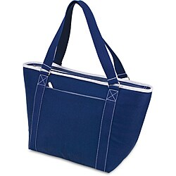 Picnic Time Topanga Navy Large Insulated Shoulder Tote (Set of 2)