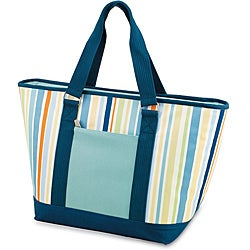 Picnic Time Topanga Striped Large Insulated Shoulder Tote (Set of 2)