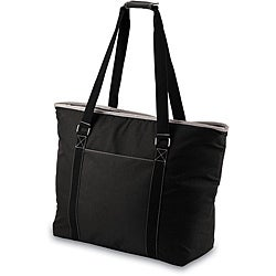 Picnic Time Tahoe Black Extra Large Insulated Shoulder Tote (Set of 2)