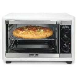 Impress White Family Size 17-Liter Toaster Oven