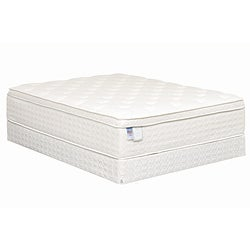 Heaven Sleep Plush Pillowtop King-size Mattress Set