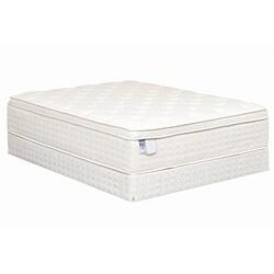 Heaven Sleep Plush Pillowtop Queen-size Mattress Set
