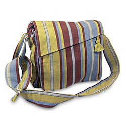 Cotton 'Natural Pragmatism' Medium Shoulder Bag (Guatemala)