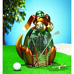 Deco Breeze DBF0179 Bogey Dog Figurine Fan