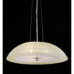 Valmont 3-light Chrome Pendant Chandelier