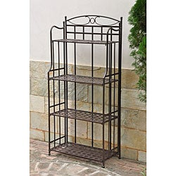 Santa Fe 4-Tier Bakers Rack