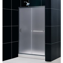 DreamLine Infinity Plus 44-48x72-inch Frosted Glass Shower Door