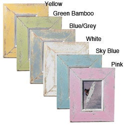 Recycled Boatwood Picture Frame