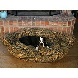 Mossy Oak Deluxe Bolster Pet Bed