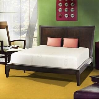 Comfort Dreams Organic Cotton 10-inch Cal King-size Memory Foam Mattress