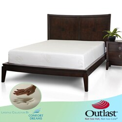 Comfort Dreams Outlast 10-inch Twin-size Memory Foam Mattress