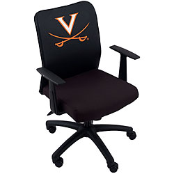 Boss Collegiate Logo Office Chair with Licensed Cover